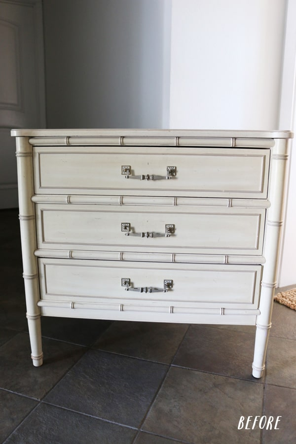 Painted Nightstand: Before & After