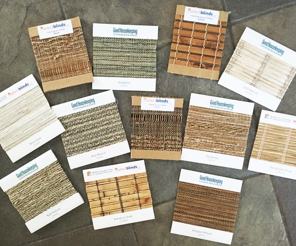 Select Blinds Samples - This post has for best discount link to order!
