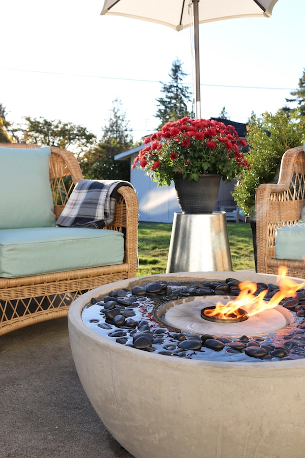 Create An Outdoor Gathering Spot Patio Fire Fountain