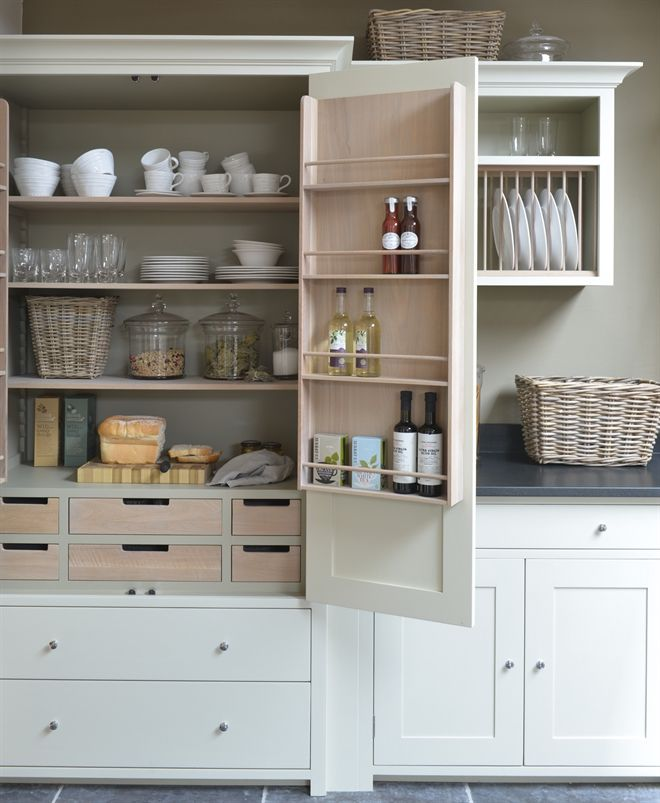 10 Inspiring Pantry Designs: Slide Out Kitchen Pantry Drawers: Inspiration