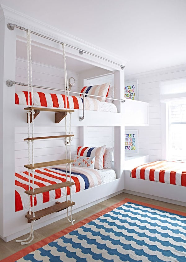 A peek at the inspiring portfolio of Chango and Co. Click through for more! - Built in Bunk Beds