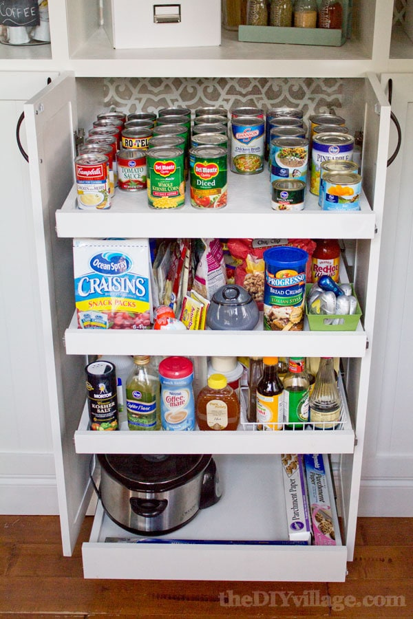 diy custom pantry sliders kitchen pantry