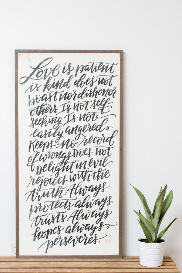 Meaningful Artwork For The Home Gift Idea The Inspired Room