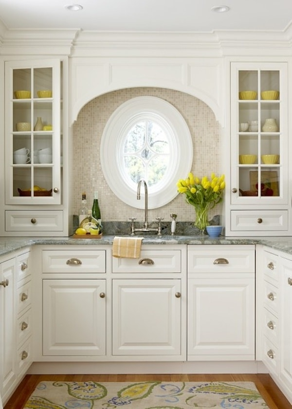 Round window inspiration - Oak Hill Architects
