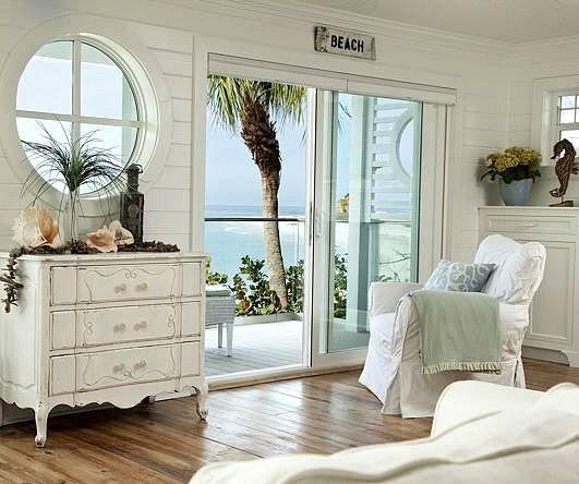 Round window inspiration - beach house