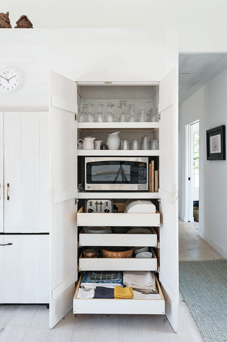 slide out kitchen pantry drawers: inspiration - the