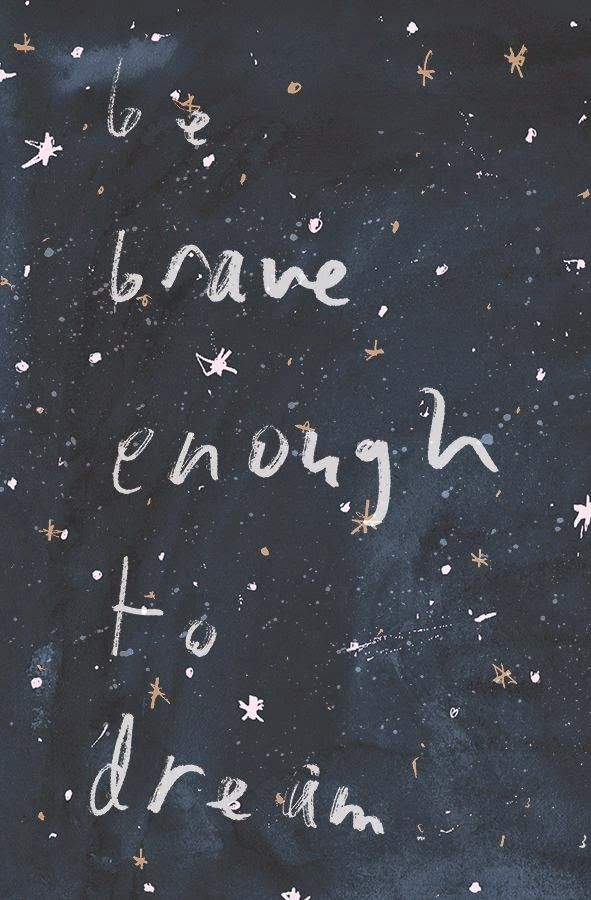 Be Brave Enough to Dream. Seize the moment, how a home business can change your life in 2017. Art via Kate Alizadeh