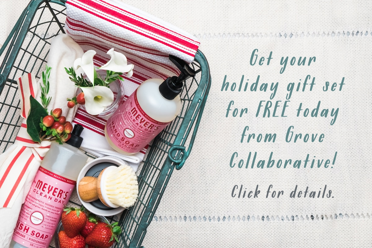 Holiday Gift Set from Mrs. Meyer's and Grove Collaborative