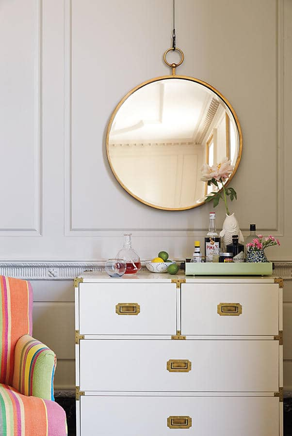 Round Mirror Round Up - The Inspired Room
