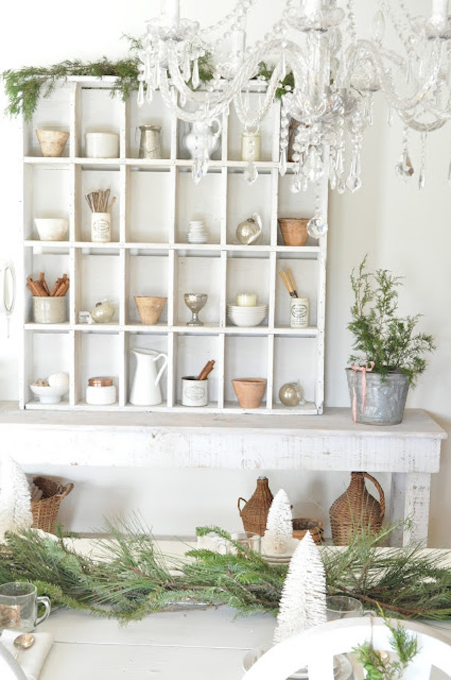 Make And Take Room In A Box Elizabeth Farm: A Bit Of Farmhouse: Galvanized & Zinc Christmas Decor