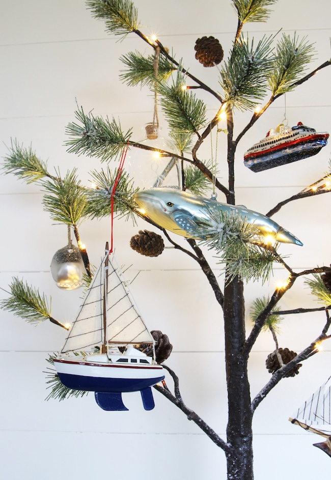 Christmas Tree Ornaments - Coastal
