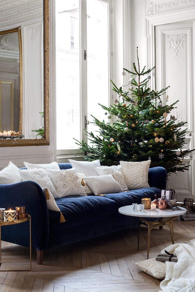 I Ll Have A Blue And White Christmas The Inspired Room