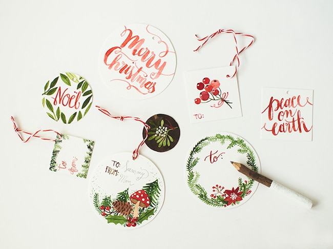 Lots of FREE Printable Gift Tags! Click through to download and print lots of designs!
