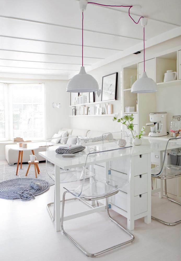 Small space solutions furniture ideas the inspired room - Petite table de salon ikea ...