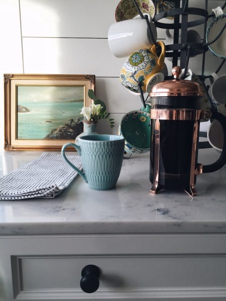 Coppery French Press