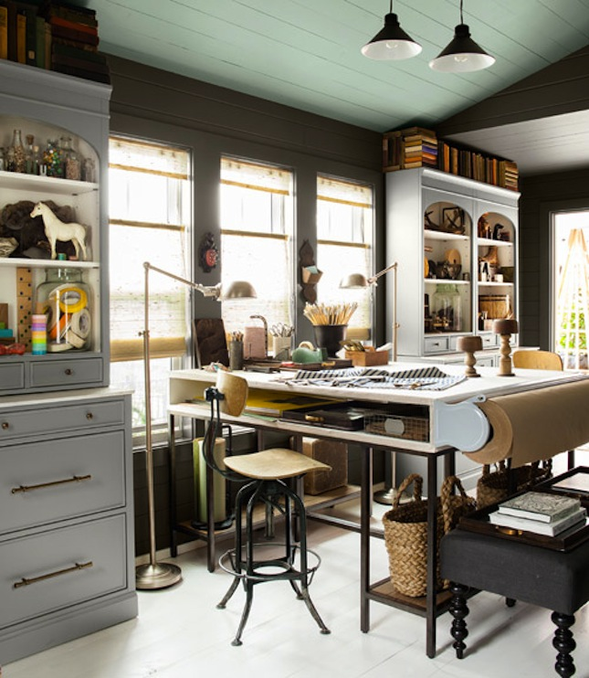 Home Office And Studio Designs: Creative Studios And Craft Room Inspiration