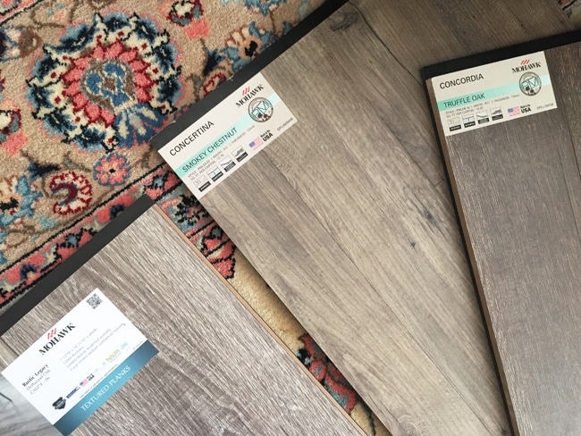 Family Room: New Flooring Installation