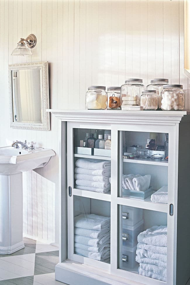 Awesome Lovely Bathroom Storage Solutions