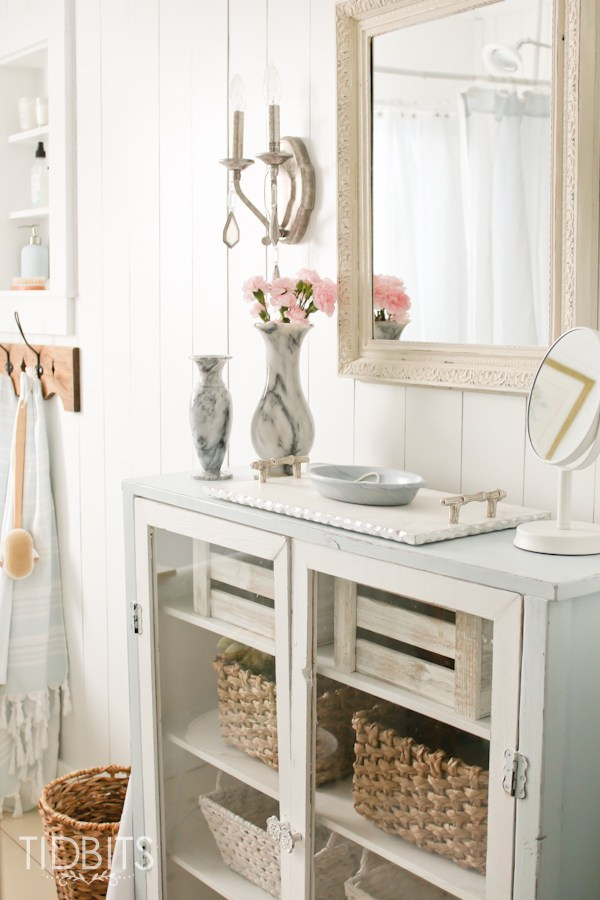 Lovely Bathroom Storage Solutions The Inspired Room
