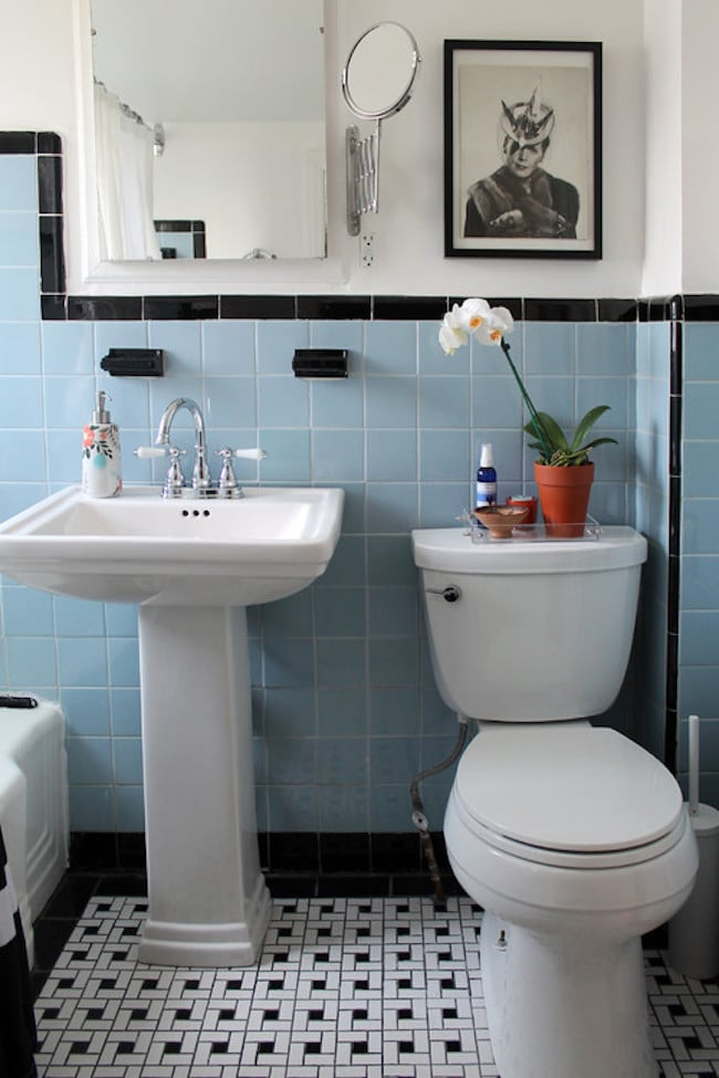 Superb Vintage Bathrooms My Mint u Pink Bathroom