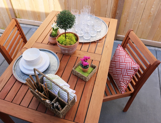 Transforming An Outdoor Space for Entertaining