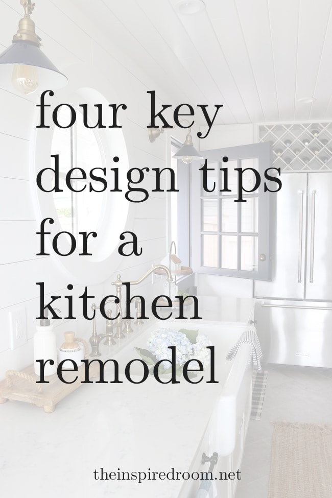 Kitchen Remodel: Four Key Design Tips
