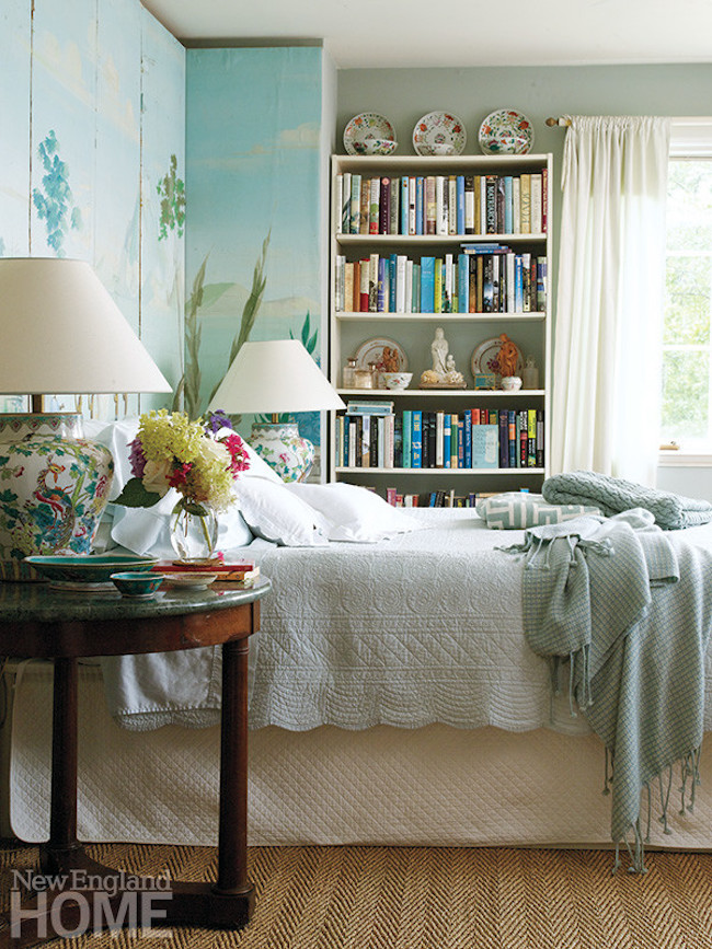 Inspired By Rooms With Books New England Home