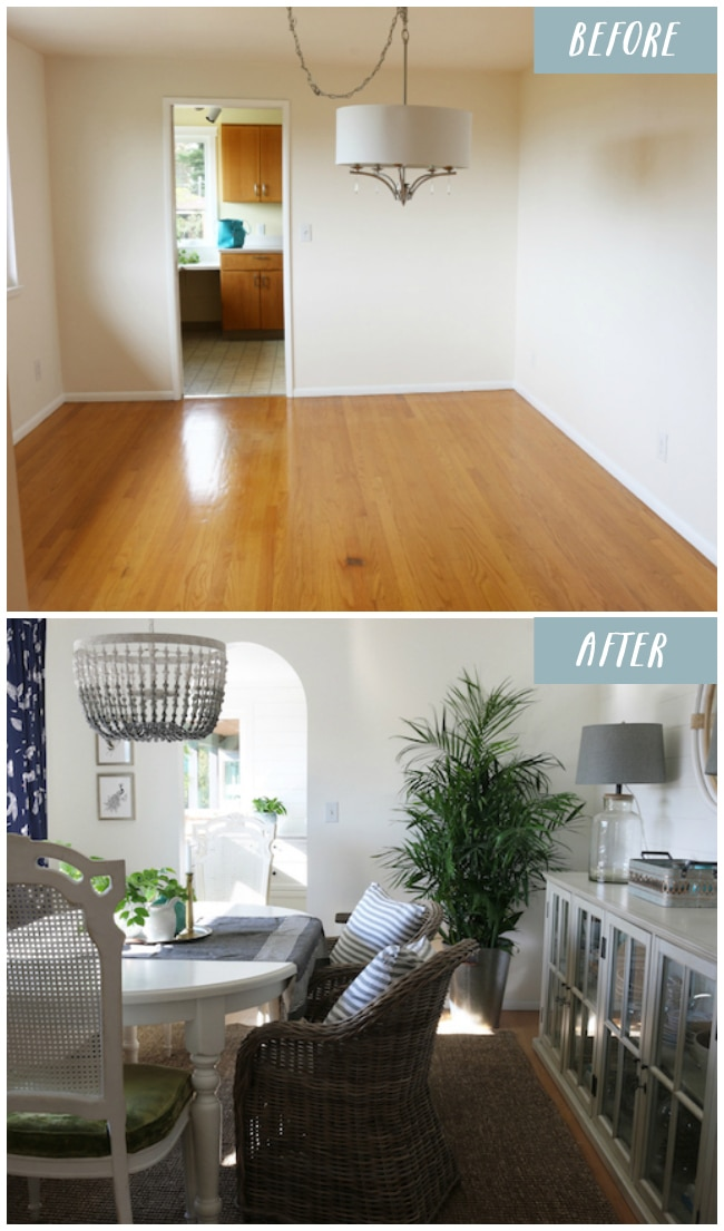 Dining Room Makeover: Before & Progress