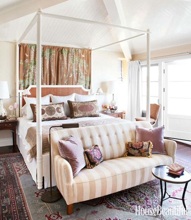 Bedroom Inspiration: Four Poster Beds House Beautiful