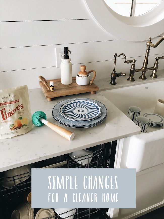 Simple Changes For A Cleaner Home
