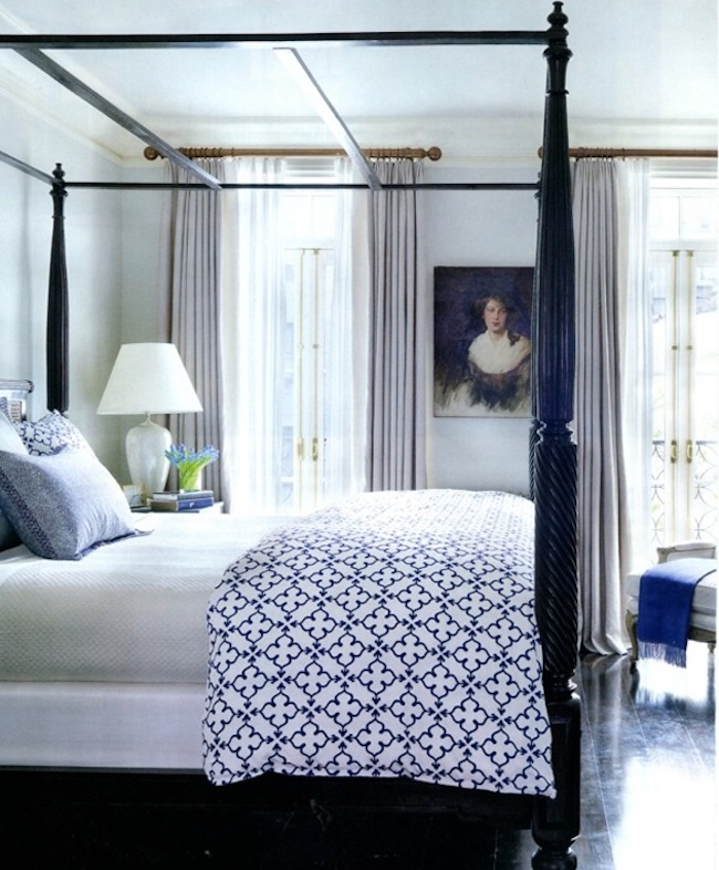 Vintage Bedroom Inspiration Four Poster Beds
