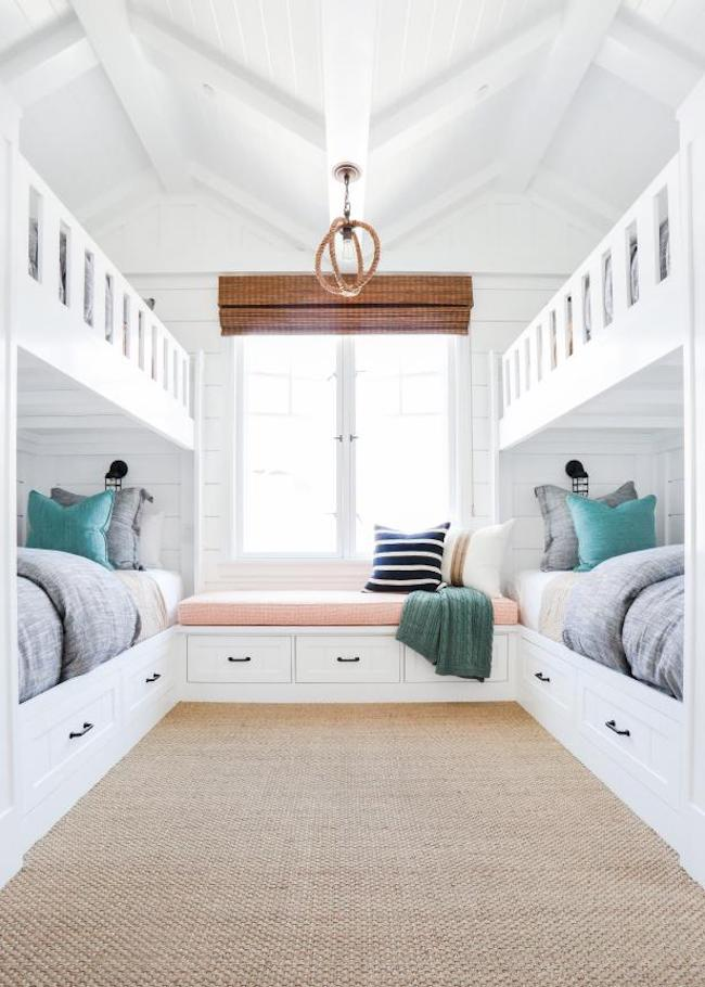 Inspired By: Bunk Beds for a Guest Room - The Inspired Room