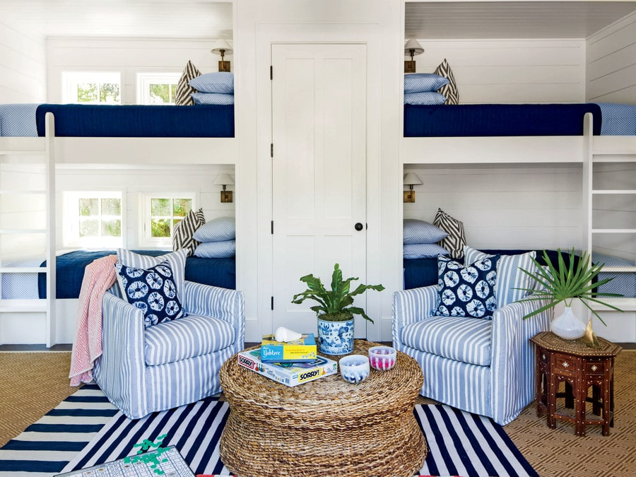 Inspired by bunk beds for a guest room the inspired room - Beds for small bedrooms ...