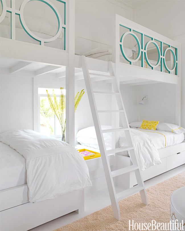 Fashion Inspired Guest Room: Inspired By: Bunk Beds For A Guest Room
