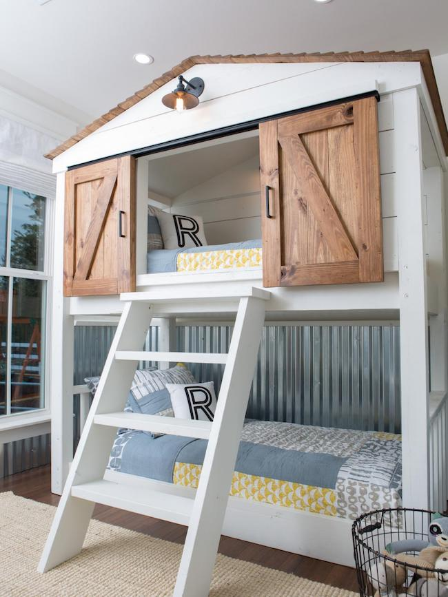 Inspired By: Bunk Beds for a Guest Room