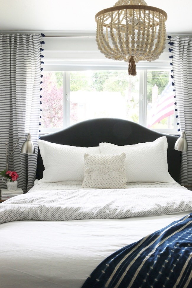 Coastal Cottage Bedroom Makeover The Inspired Room