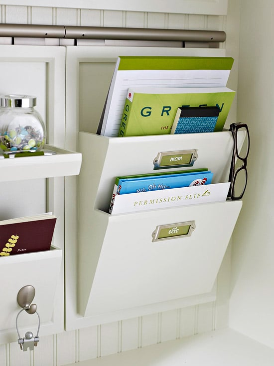 Back to School Organization: Homework & Home Office