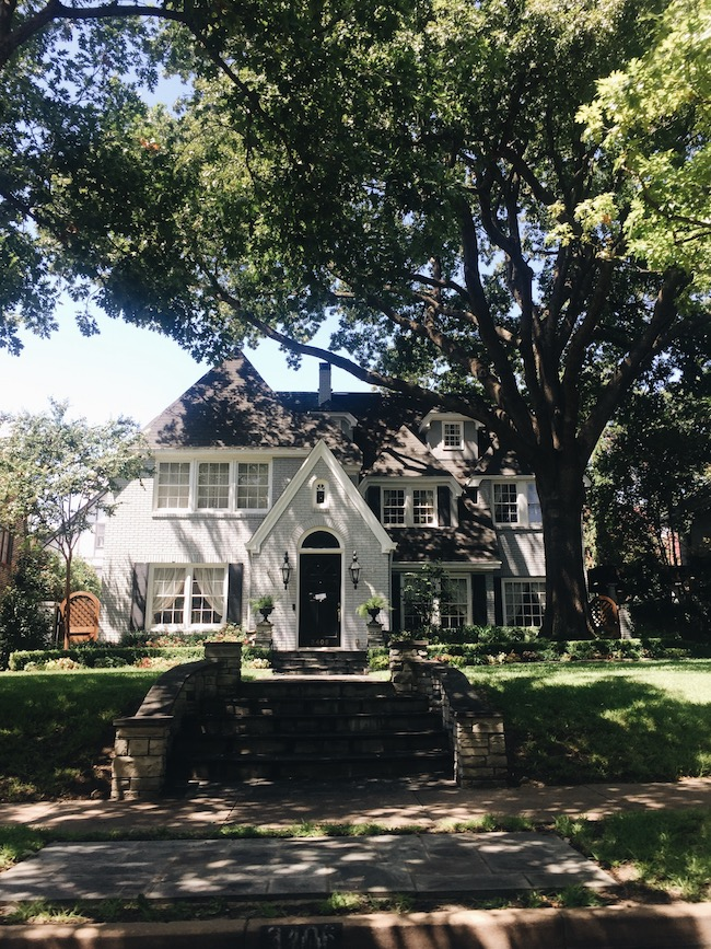 Drive By: Highland Park in Dallas (and video!)