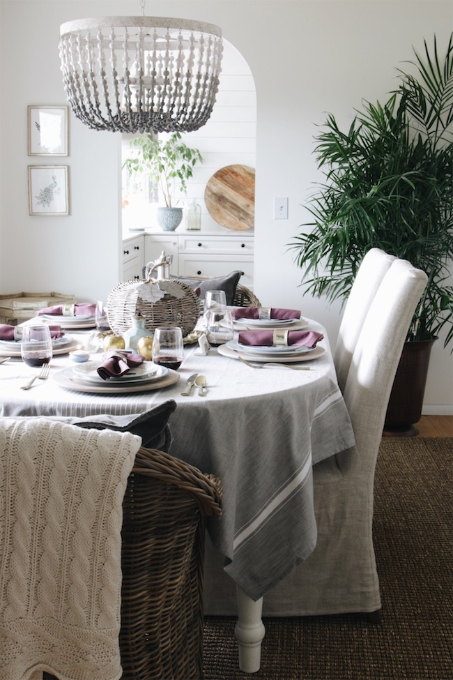 Fall Dining Room Farmhouse Holiday Tour My
