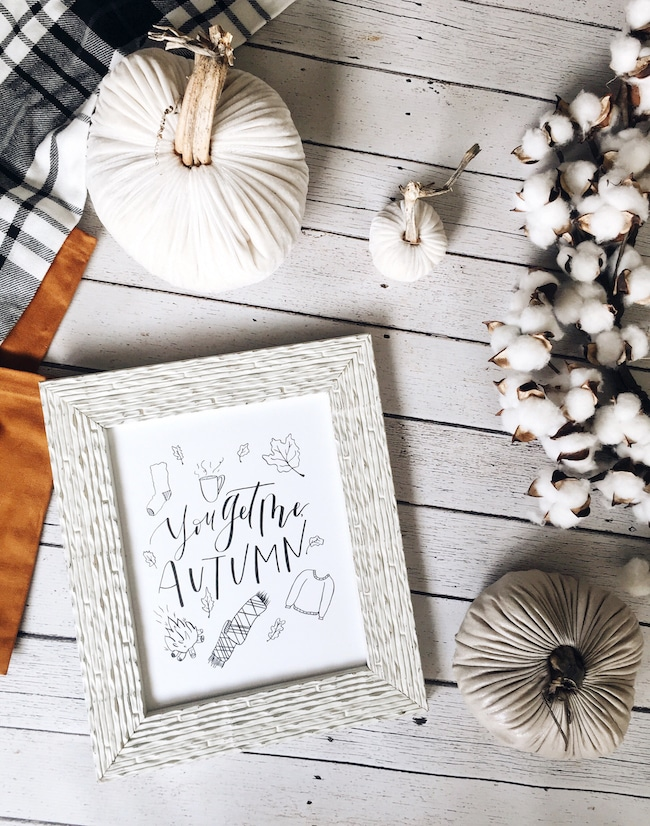 Welcome to Fall Nesting + A Free Printable Fall Print