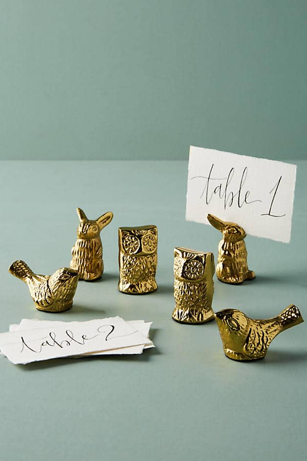 A Place at the Table: Festive Place Card Holders