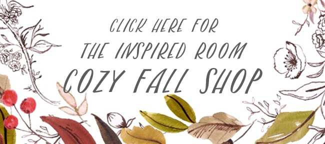 5 Must-Haves for Your Fall Home (And The Cozy Fall Shop)
