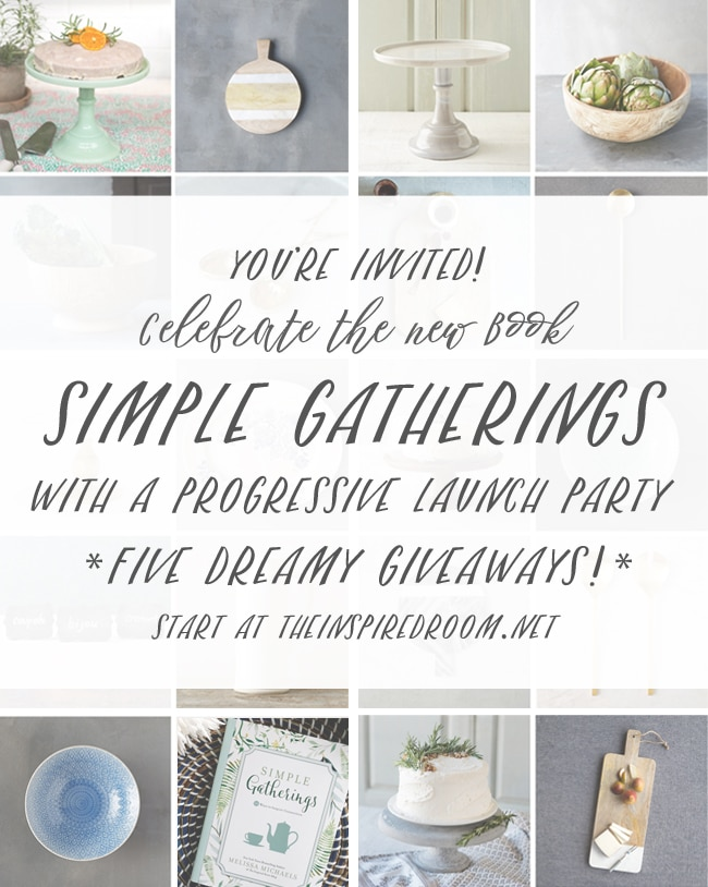 Simple Gatherings Progressive Party & Giveaways!