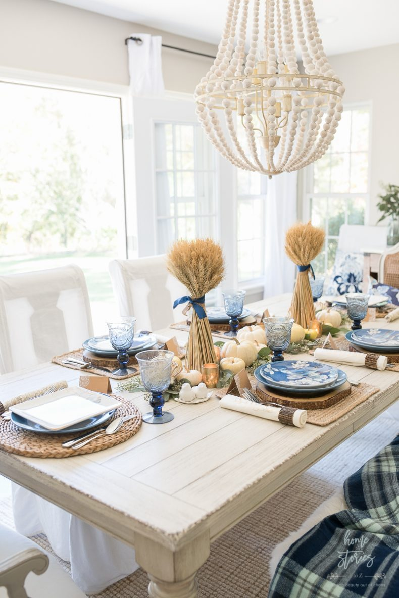 Simple natural table setting ideas the inspired room for Simple table setting