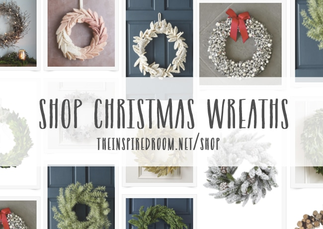 Christmas Decorating Shop from The Inspired Room