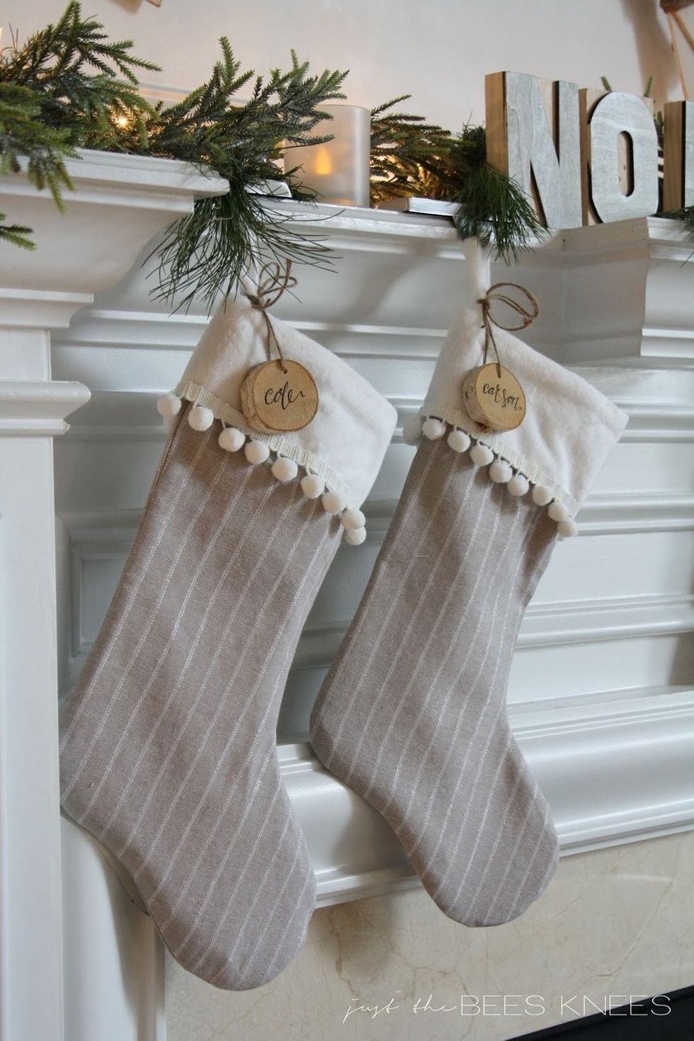 9 Creative Ideas for Extra Festive Christmas Stockings
