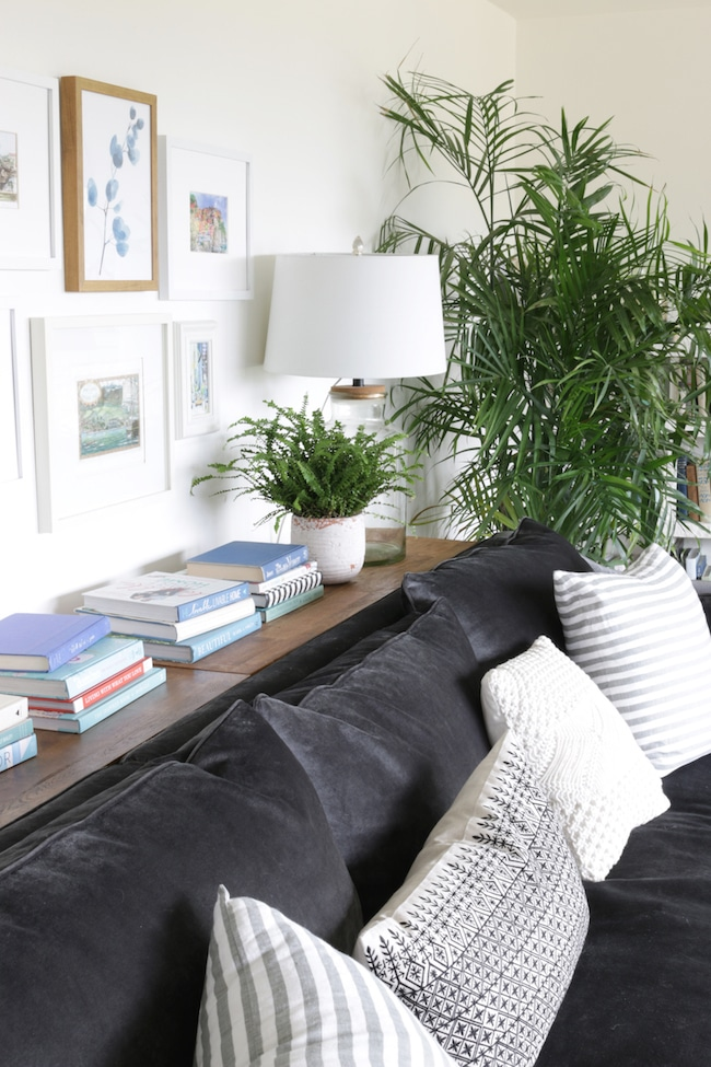 Our Long Sofa Table: One Piece, Three Ways