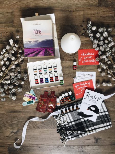 Young Living Premium Starter Kit and Holiday Scent Bundle - The Inspired Room