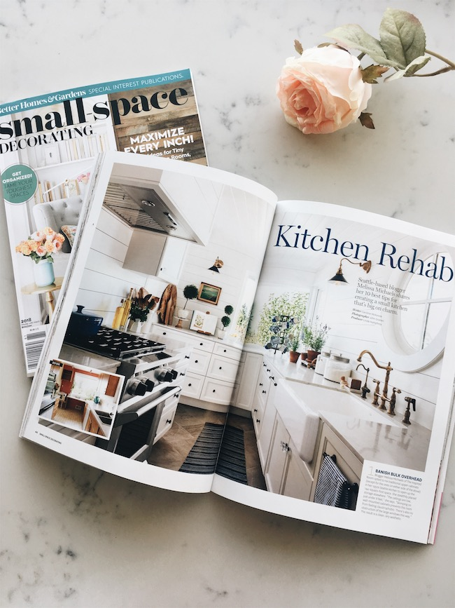 My Galley Kitchen Remodel | BHG Small Space Magazine!
