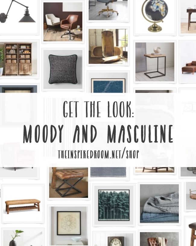 Shop Masculine and Moody Decor